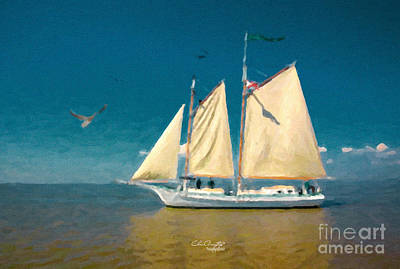 Painting - Sail Away by Chris Armytage