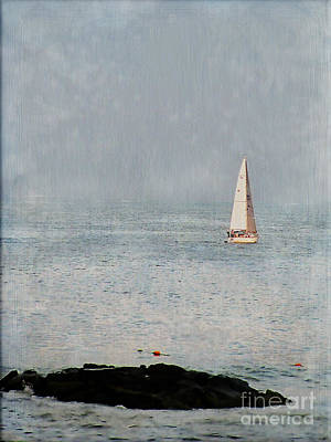 Sail Away Art Print by Colleen Kammerer