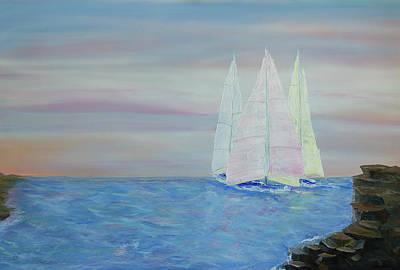 Painting - Sail Away by Deb Breton