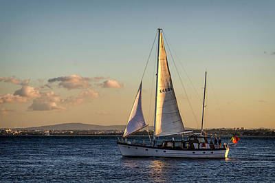 Photograph - Sail Away From Lisbon by Pablo Lopez