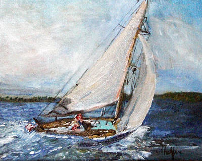 Sail Away Art Print by Michael Helfen