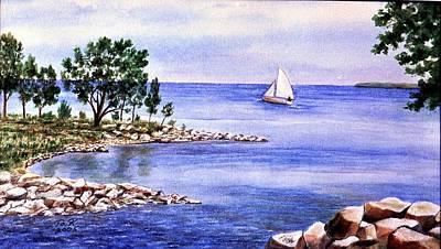 Painting - Sail Away by Thomas Kuchenbecker