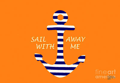 Mixed Media - Sail Away With Me by David Millenheft
