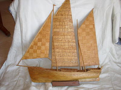 Sail Boat Original by John Rodger