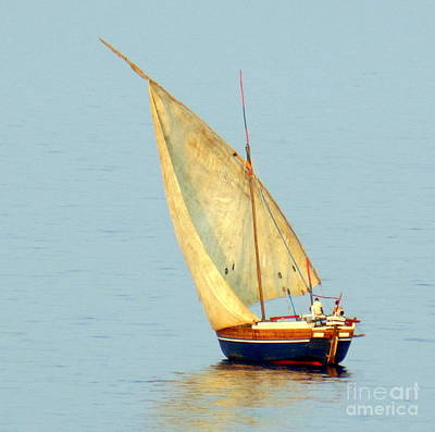 Photograph - Sail Boat Madagascar  by John Potts