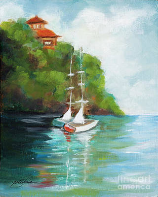Painting - Sail Boats  by Pati Pelz