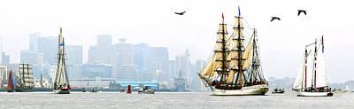 Photograph - Sail Boston 2017 Europa by John Brown