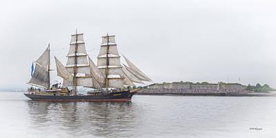 Photograph - Sail Boston 2017 by Paul Treseler