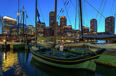 Photograph - Sail Boston Tall Ship Essex by Juergen Roth