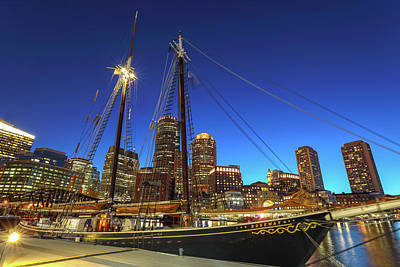 Photograph - Sail Boston Tall Ships by Juergen Roth