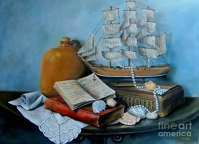 Painting - Sail By Tale by Patricia Lang