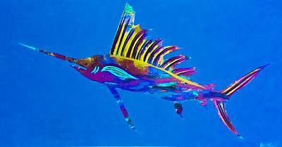 Sail Fish 6 Original by Barry Knauff