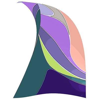 Digital Art - Sail by Gina Harrison