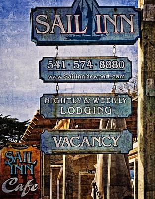 Photograph - Sail Inn by Thom Zehrfeld