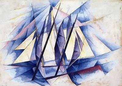 Painting - Sail Movements by Taiche Acrylic Art