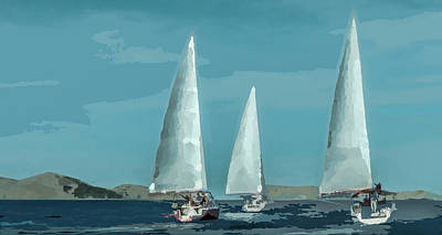 Photograph - Sail On by Michael Arend