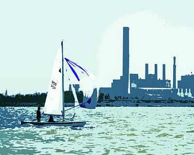 Photograph - Sail Power by Michael Arend