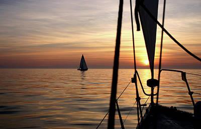 Photograph - Sail Romance by Juozas Mazonas