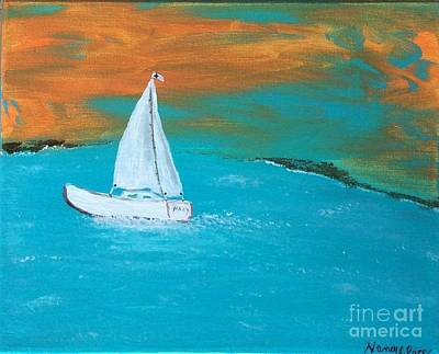 Painting - Sail The Galilee by Nancy Pace