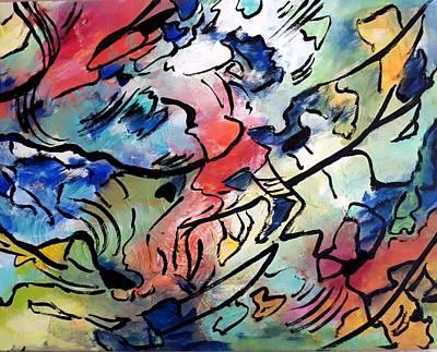 Painting - Sail The Sea by Nikki Dalton