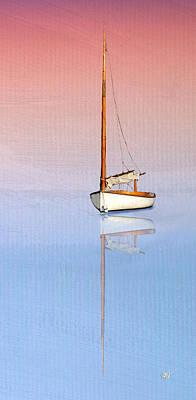 Sail To Serenity Art Print by Michael Petrizzo