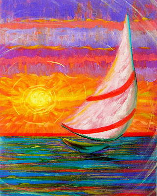Sailaway Art Print by Jeanette Jarmon