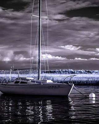 Photograph - Sailboat 03 by Hayden Hammond