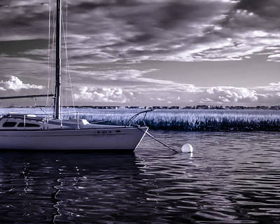 Photograph - Sailboat 04 by Hayden Hammond