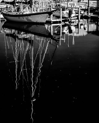 Photograph - Sailboat 05 by Hayden Hammond