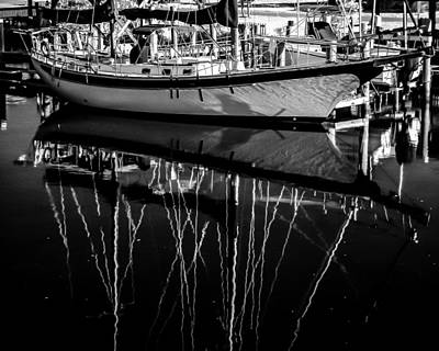 Photograph - Sailboat 06 by Hayden Hammond