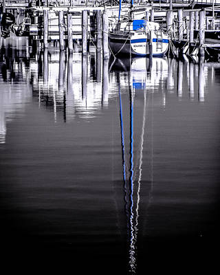 Photograph - Sailboat 07 by Hayden Hammond