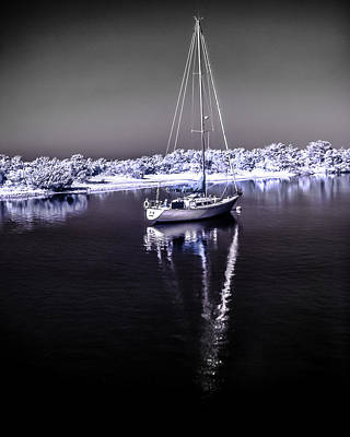 Photograph - Sailboat 10 by Hayden Hammond