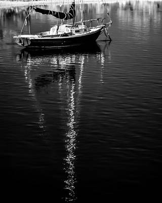 Photograph - Sailboat 12 by Hayden Hammond
