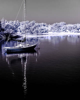 Photograph - Sailboat 14 by Hayden Hammond
