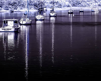 Photograph - Sailboat 15 by Hayden Hammond