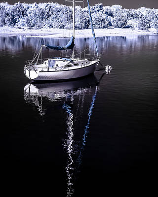 Photograph - Sailboat 17 by Hayden Hammond