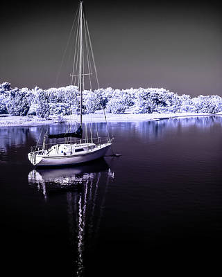 Photograph - Sailboat 18 by Hayden Hammond