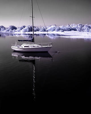 1-war Is Hell Royalty Free Images - Sailboat 19 Royalty-Free Image by Hayden Hammond