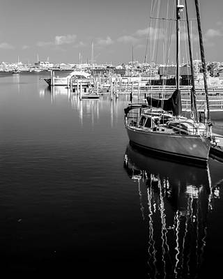 Photograph - Sailboat 20 by Hayden Hammond