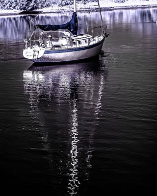 Photograph - Sailboat 22 by Hayden Hammond