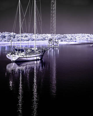 Photograph - Sailboat 27 by Hayden Hammond
