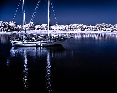 Photograph - Sailboat 28 by Hayden Hammond