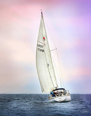 Photograph - Sailboat 3 by Endre Balogh