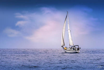 Photograph - Sailboat 4 by Endre Balogh