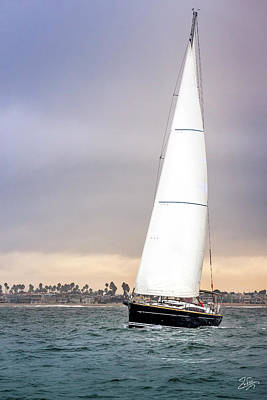 Photograph - Sailboat 5 by Endre Balogh