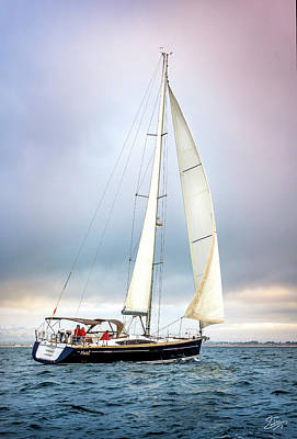 Photograph - Sailboat 8 by Endre Balogh