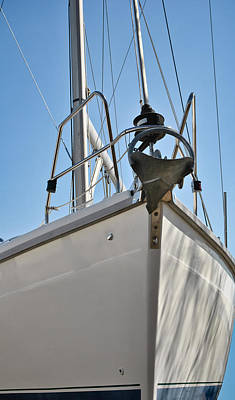 Photograph - Sailboat Bow 3 by Greg Jackson