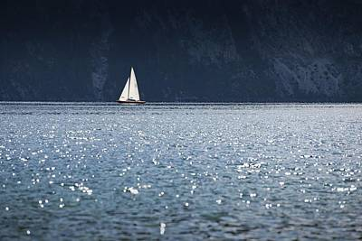 Art Print featuring the photograph Sailboat by Chevy Fleet