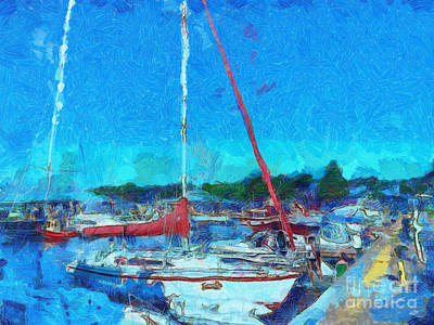 Photograph - Sailboat by Claire Bull