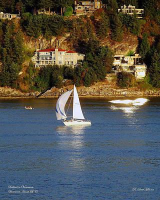 Queen - Sailboat in Vancouver by Robert Meanor